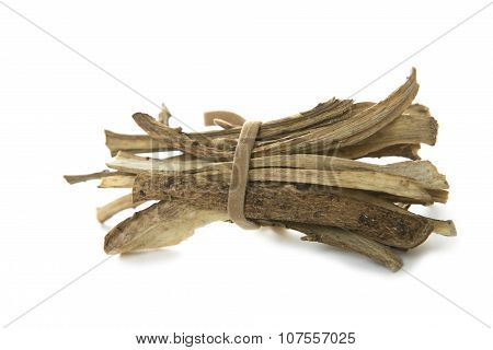 Nard Root. Elecampane Root Close-up