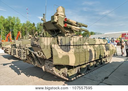 Tank Support Fighting Vehicle Terminator. Russia