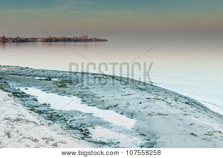 On the banks of the Dnieper
