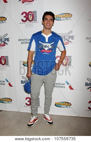LOS ANGELES - NOV 7:  Jose Moreno Brooks at the Adrian Gonzalez's Bat 4 Hope Celebrity Softball Game PADRES Contra El Cancer at the Dodger Stadium on November 7, 2015 in Los Angeles, CA