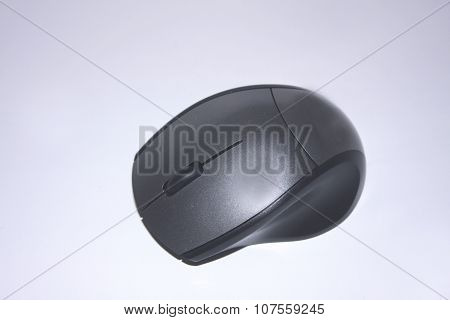 Pc And Laptop Mouse On White Background