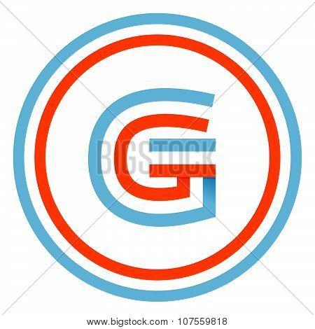G Letter Design Template