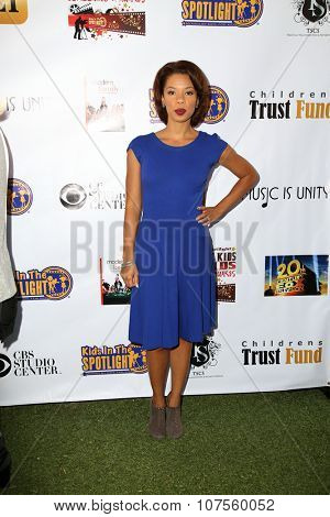 LOS ANGELES - NOV 7:  Angel Parker at the Kids In The Spotlight's Movies By Kids, For Kids Film Awards at the Fox Studios on November 7, 2015 in Century City, CA
