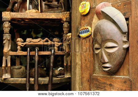 African Mask From Tanzania