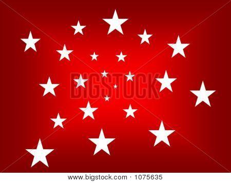 Vortex Stars White All Over