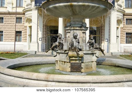 Ganymede fountain