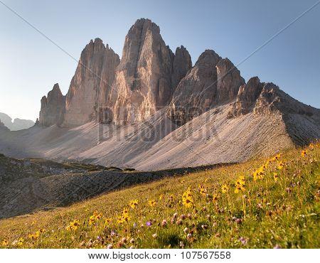 Drei Zinnen Or Tre Cime Di Lavaredo, Italian Alps