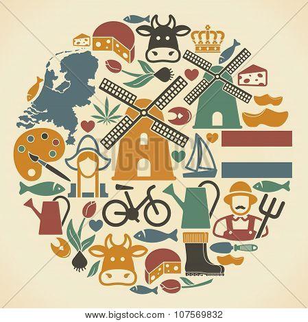 Netherlands symbols