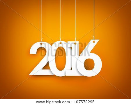 New year - 2016 - background