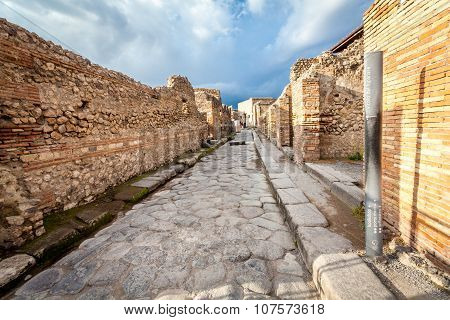 Pompeii city , Italy