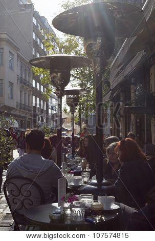 Greece Thessaloniki Cafe