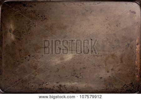 Old Baking Sheet Texture