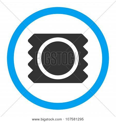 Condom Rounded Vector Icon