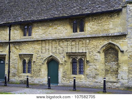 Medieval Almshouse in Burford