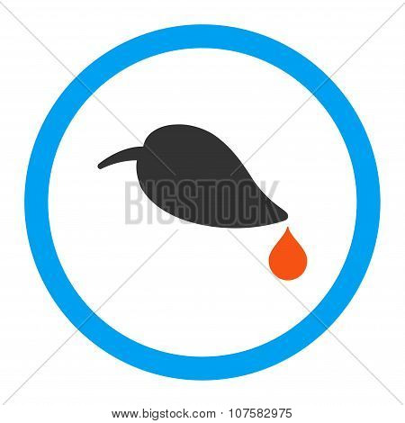 Ecology Rounded Vector Icon