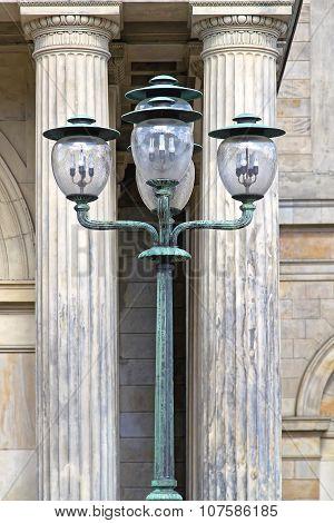 Fluorescent Street Light
