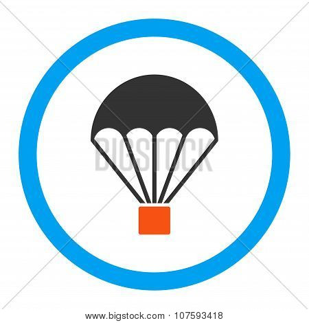 Parachute Rounded Vector Icon