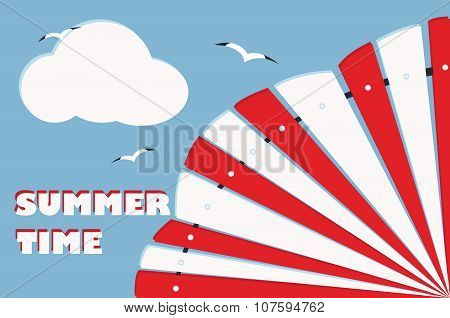 summer background card