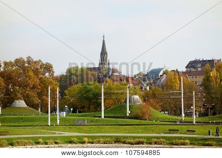 Stuttgart, Church Berg, Lower Castle Garden