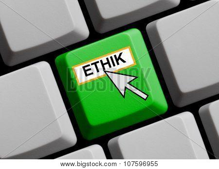 Ethics Online In German Language
