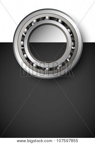 vector bearings illustration