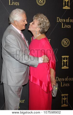 LOS ANGELES - NOV 7:  Bill Hayes, Susan Seaforth Hayes at the Days of Our Lives 50th Anniversary Party at the Hollywood Palladium on November 7, 2015 in Los Angeles, CA