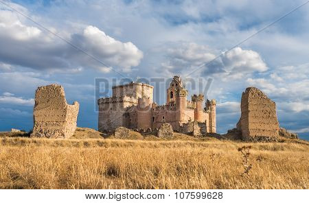 Castle Of Turegano, An Ancient Fortress In The Province Of Segovia, Spain