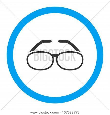 Spectacles Rounded Vector Icon