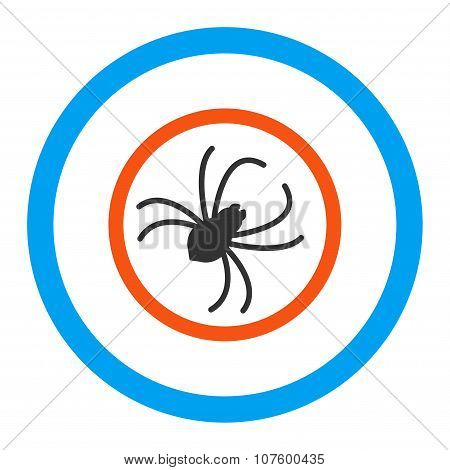 Spider Rounded Vector Icon