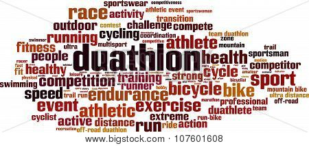 Duathlon Word Cloud
