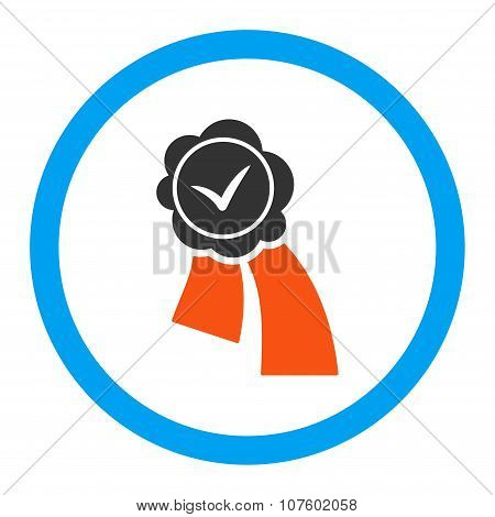 Validation Seal Rounded Vector Icon