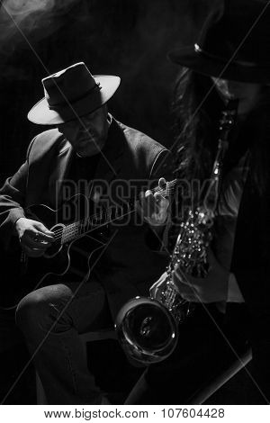 Sax and Guitar
