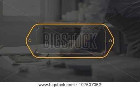 Label Tag Identity Identification Badge Design Concept