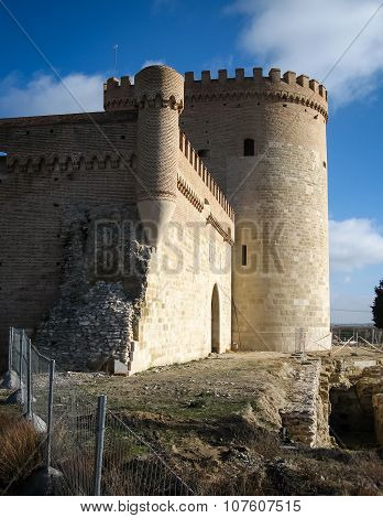 Castle In Arevalo, Avila, Castilla Y Leon, Spain