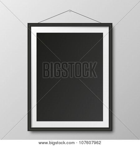 Picture frame and shadow