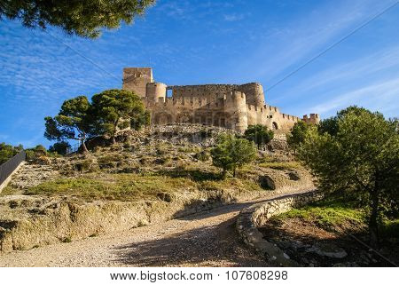 Castle At Biar, Valencia Y Murcia, Spain