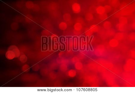 Red Background Abstract Cloth Or Liquid Wave Illustration Of Wavy Folds Of Silk Texture Satin Or Vel
