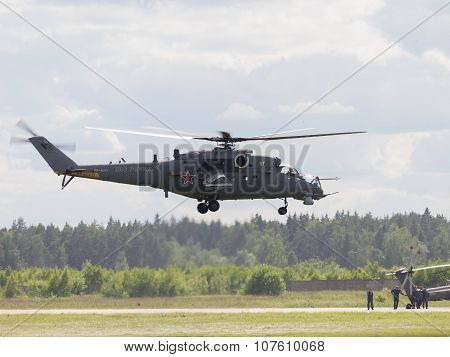 The Mi-24 Takes Off