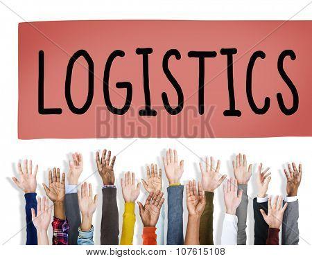Logistics Freight Transportation Shipping Business Concept