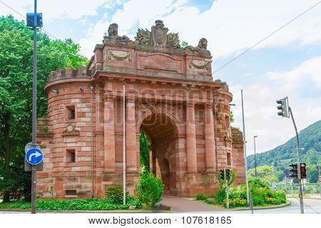 The Karls - gate Heidelberg, Germany