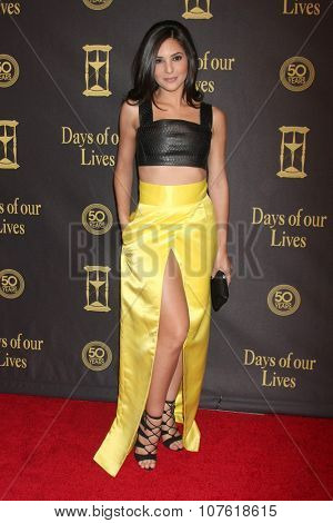 LOS ANGELES - NOV 7:  Camila Banus at the Days of Our Lives 50th Anniversary Party at the Hollywood Palladium on November 7, 2015 in Los Angeles, CA