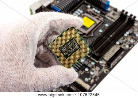 Electronic Collection - Installing Cpu In Motherboard