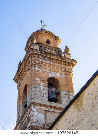 Bell Tower Of The Church Of St. Augustine