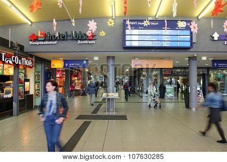 Bochum Station, Germany