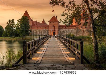 Lithuania: Trakai island castle