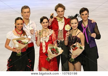 Medalists In Pair Skating