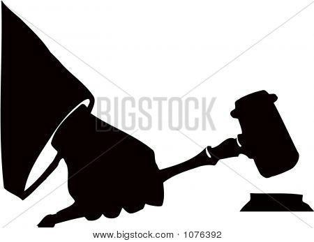 Auction Hammer Gavel