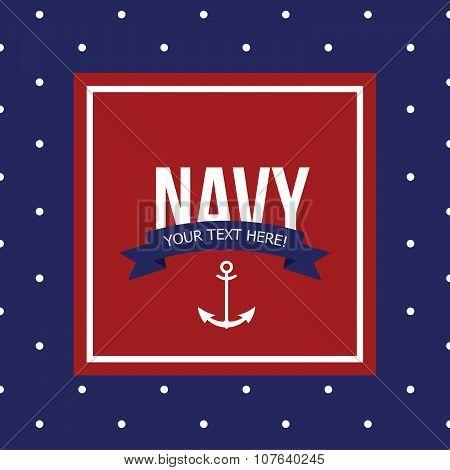Seamless Pattern background On The Marine Theme