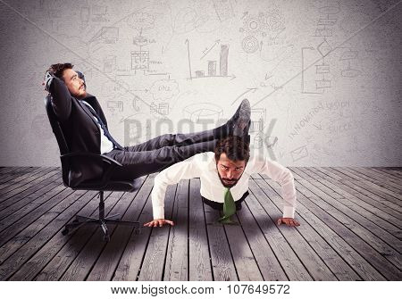 Boss mobbing