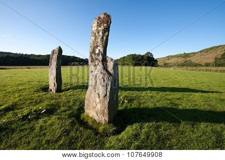 Nether Largie Standing Stones, Kilmartin Glen, Scotland